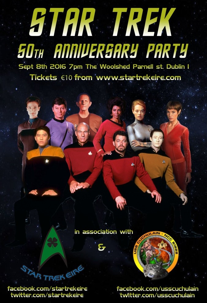 Satr Trek 50th Party
