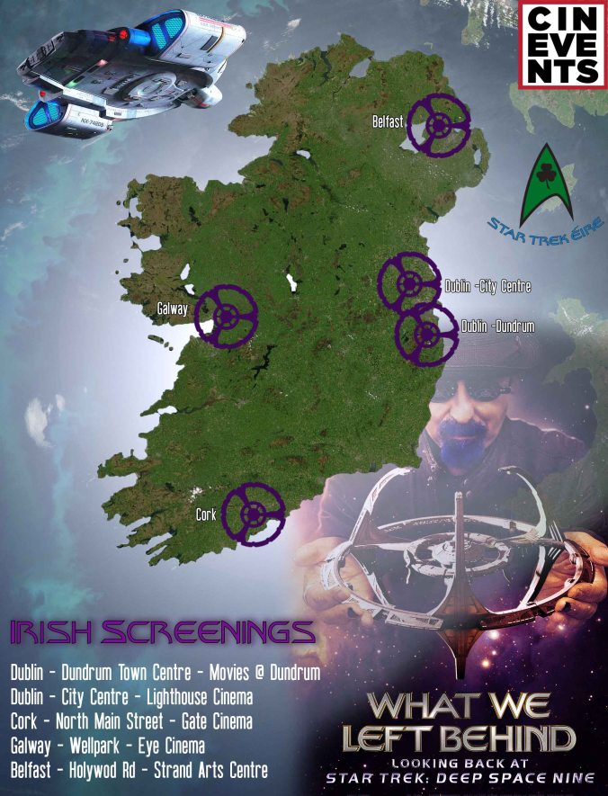 Irish Screenings of 'What We Left Behind' Deep Space Nine Documentary